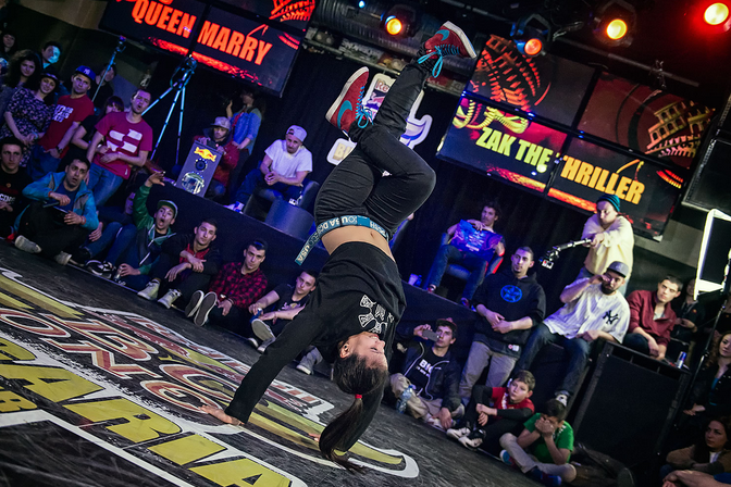 Nika's spotlight on BGIRL QUEEN MARY