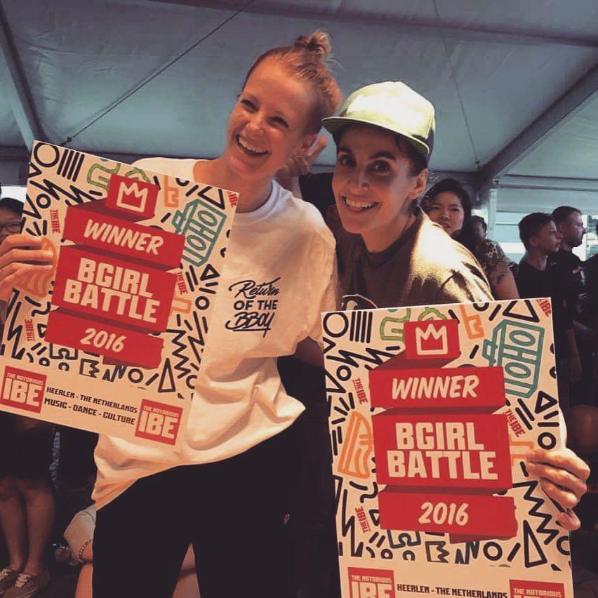 Bo & Jeskilz winners IBE Bgirl2vs2 2016