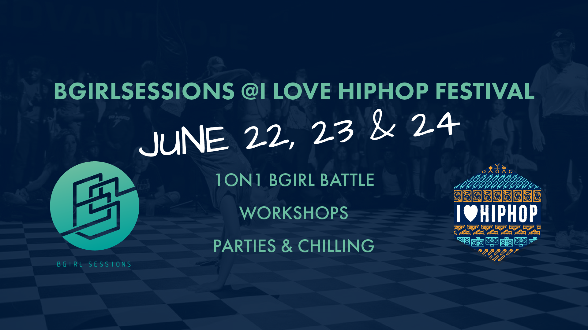BGIRLSESSIONS x I LOVE HIP HOP 3rd edition