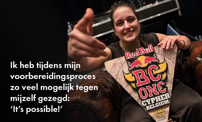 Interview met de Red Bull Belgium Cypher winner Camine (in het Nederlands – English version coming soon)