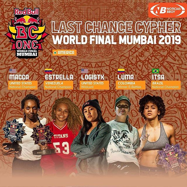 NEXT UP: the redbull BC one world finals