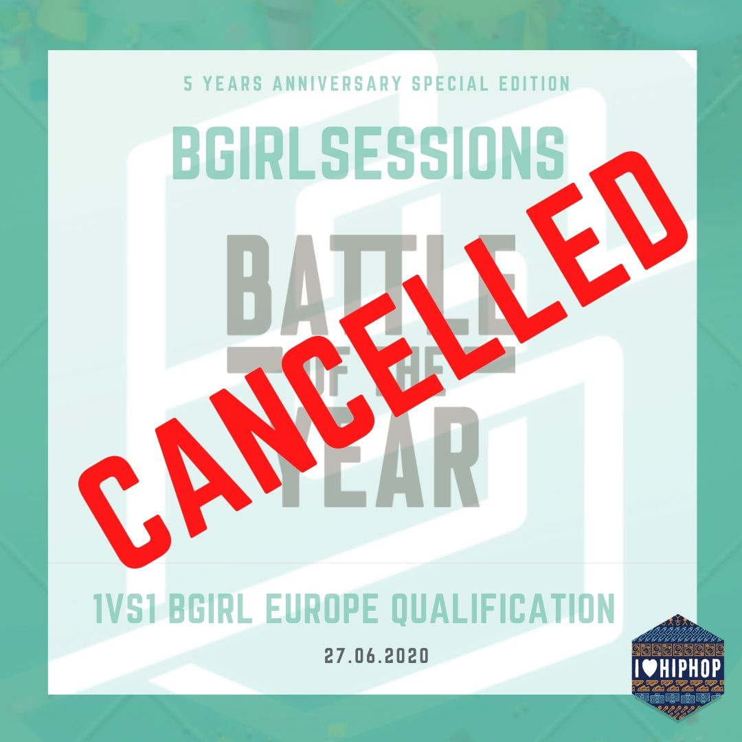 Bgirlsessions 5 year anniversary is cancelled